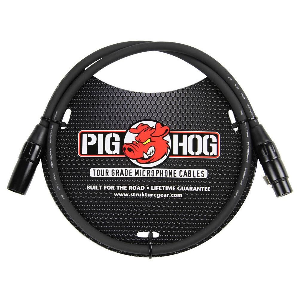 PigHog Pig Hog PHM3 High Performance XLR Microphone Cable - 8mm, 3'