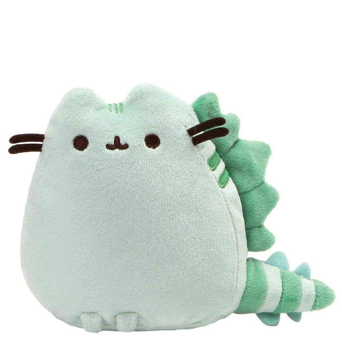 GUND Pusheen Pusheenosaurus Dinosaur Cat Plush Stuffed Animal - Green, 6""