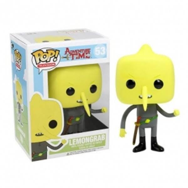 Funko Pop Adventure Time Lemongrab Vinyl Figure