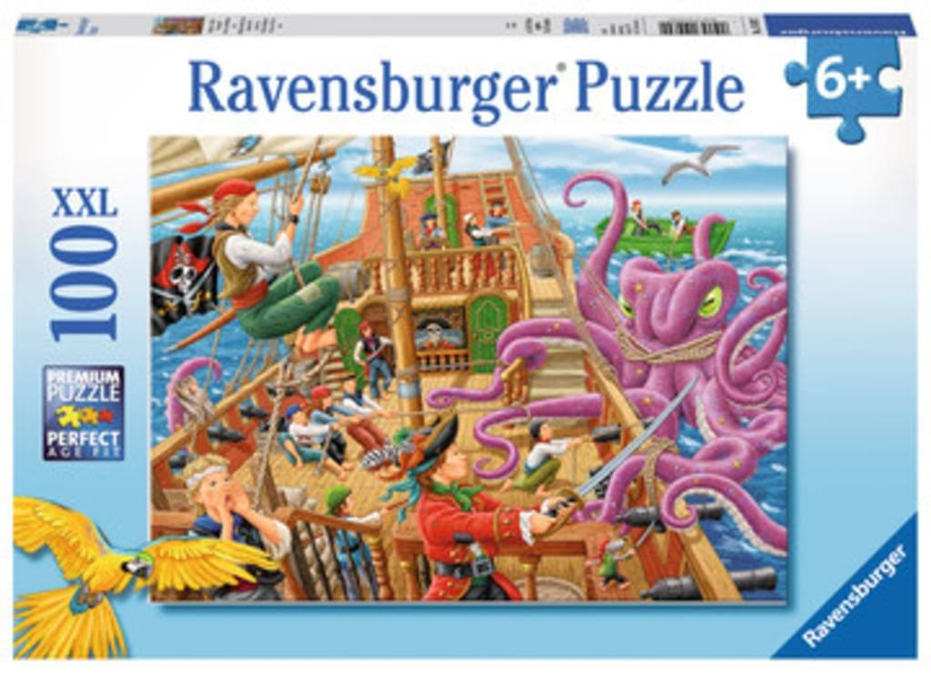 Ravensburger Pirate Boat Adventure Puzzle - 100pcs