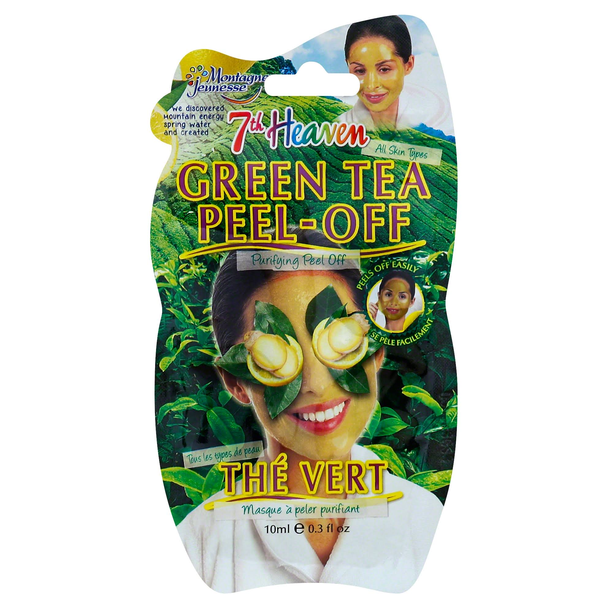 Montagne Jeunesse Green Tea Peel-Off Face Mask - 10ml