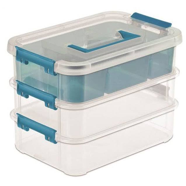 Sterilite Layer Stack & Carry Box