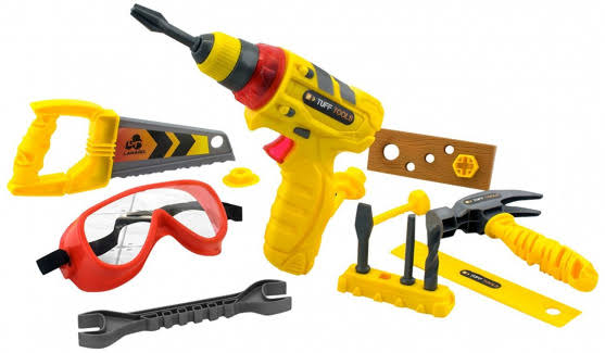 Tuff Tools Pretend Play Toy Multi-Tool Set - Multi