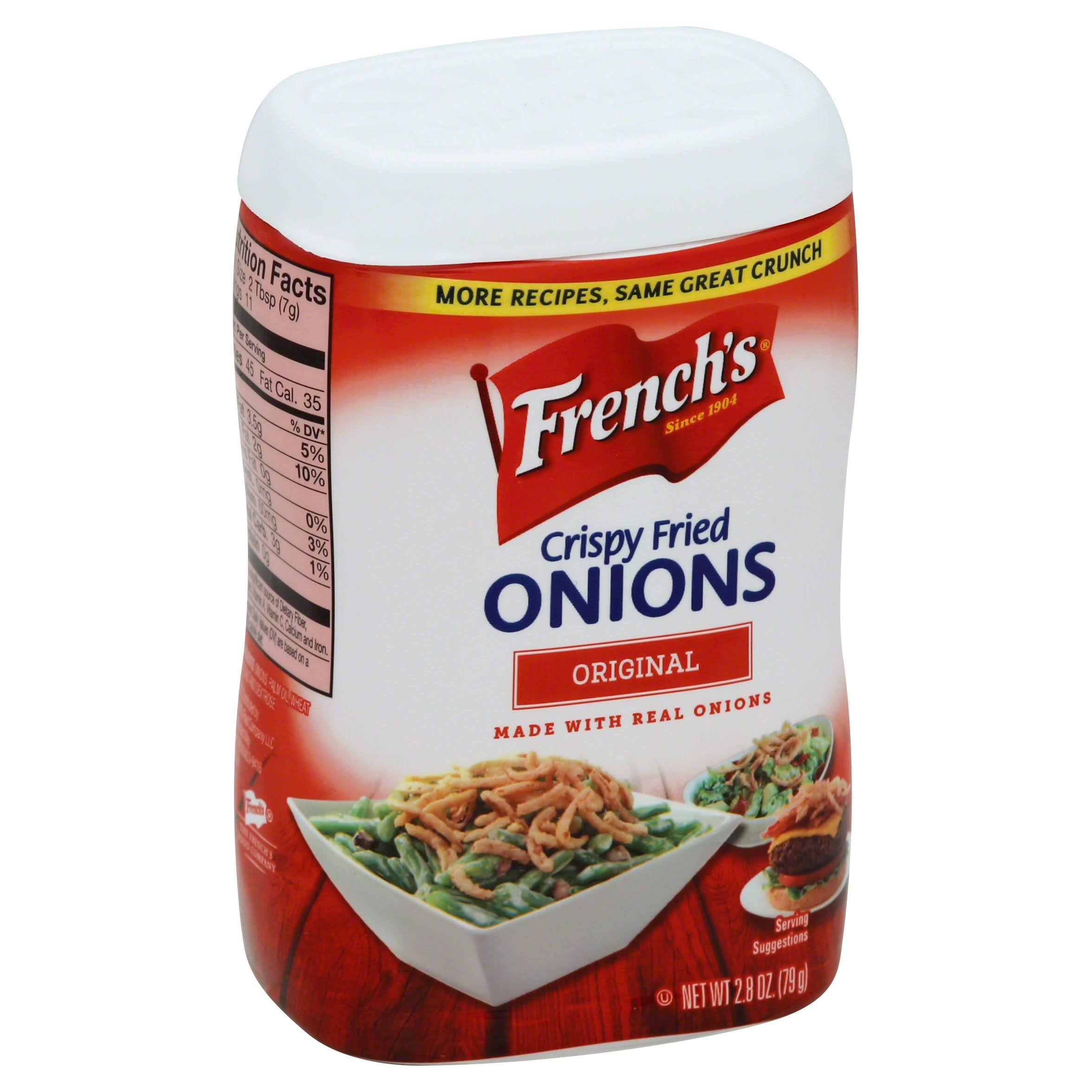 French's Original Crispy Fried Onions - 2.8oz