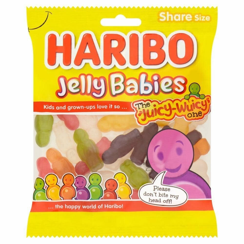 Haribo Jelly Babies Bag - 140g