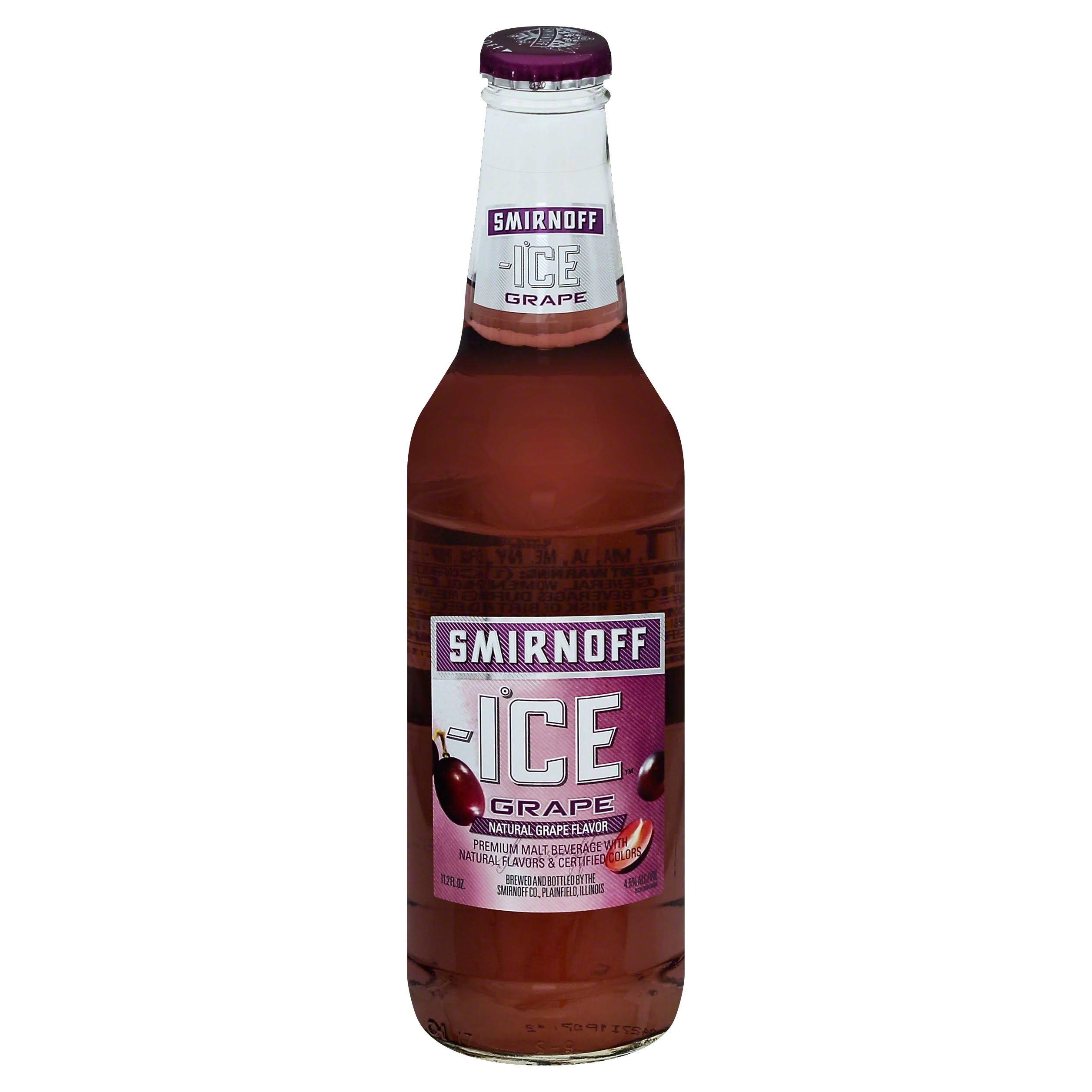 Smirnoff Ice Premium Malt Beverage - Wild Grape