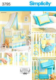 Bratt Decor Crib Skirt by Baby Room Zoom Baby Bedding Sewing Patterns Simplicity Mini Crib