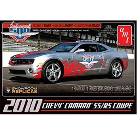 AMT 2010 Chevy Camaro SS/RS Indy 500 Pace Car Plastic Model Kit