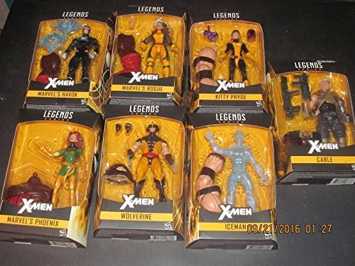 Hasbro X-Men Marvel Legends Action Figures Wave - Assortment, 6""