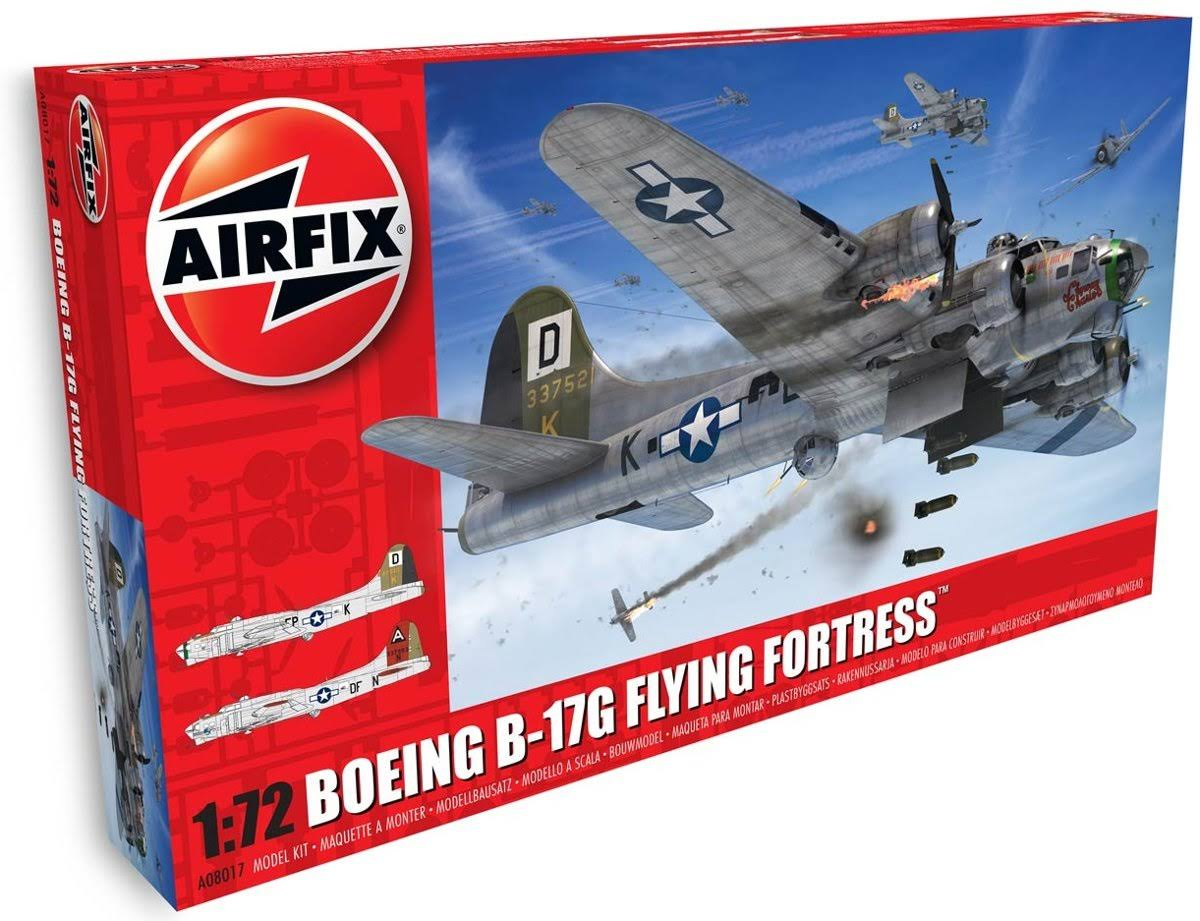 Boeing B-17G Flying Fortress 1/72 Scale Model by Airfix A08017A