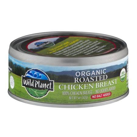 Wild Planet Foods Organic Roasted Chicken Breast - 5oz
