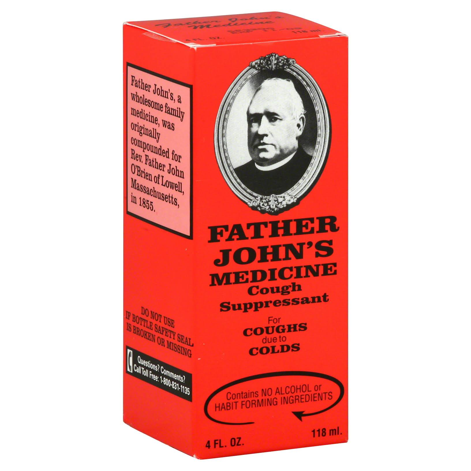 Father Johns Cough Medicine - 4oz