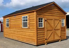 12x20 Storage Shed Kits by Cedar U0026 Split Log Storage Sheds Leonard Buildings U0026 Truck