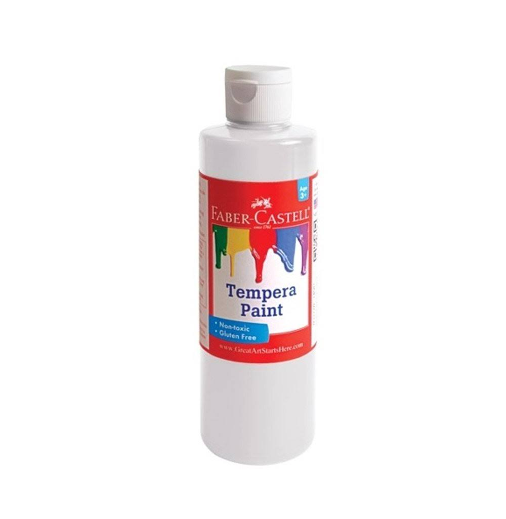 Faber-Castell Tempera Paint 8 oz White