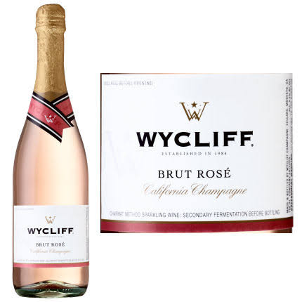 Wycliff Brut Rose | California Champagne NV / 750 ml.