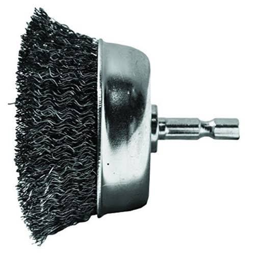 Century Drill and Tool 76223 Fine Drill Cup Wire Brush - 2 3/4""
