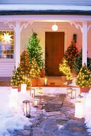 Frontgate Christmas Trees by 17 Outdoor Christmas Light Decoration Ideas Outside Christmas
