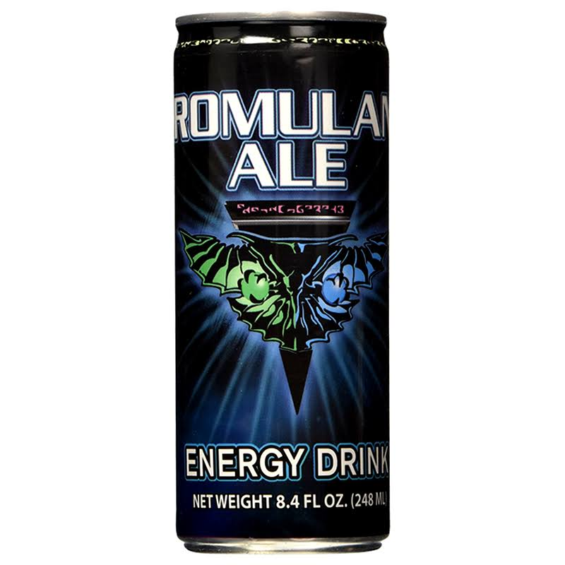 Star Trek Romulan Ale Energy Drink - 250ml