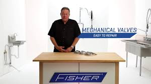 Foot Pedal Faucet Valve by Fisher Foot Pedals And Hands Free Valves Youtube