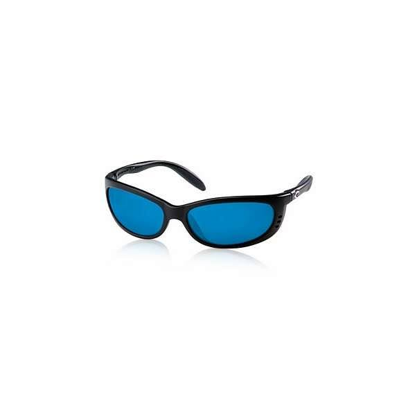 Costa Del Mar Fathom Black Sunglasses Blue Lens 400g