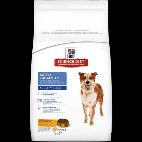 Hill's Science Diet Adult Active Longevity Chicken Meal Rice and Barley Recipe Dog Food - 5lb