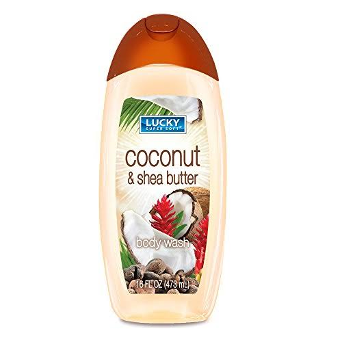 Lucky Super Soft - Body Wash - Coconut and Shea Butter - 16 fl.oz.