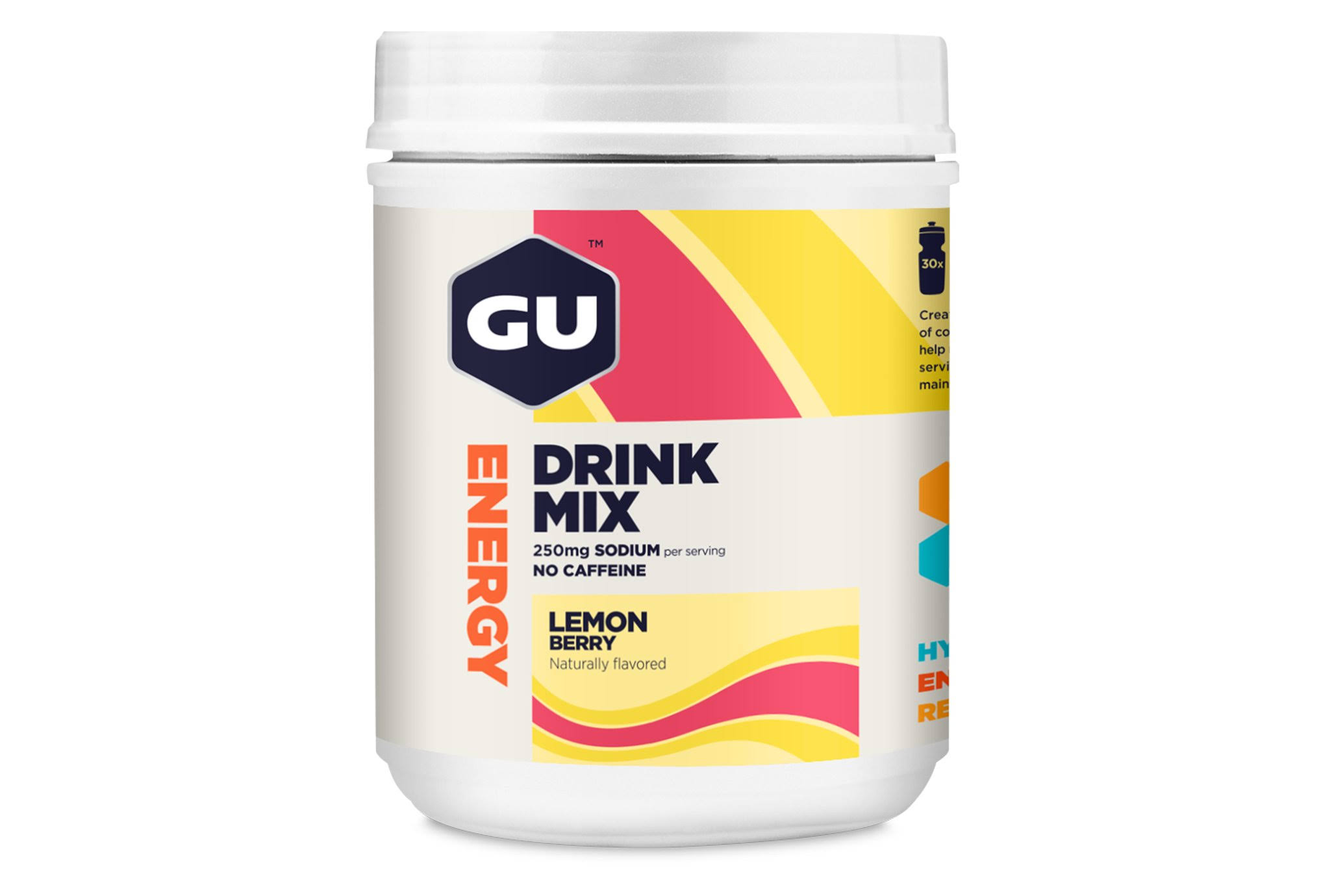 GU Energy Drink Mix 840 grams Lemon Berry
