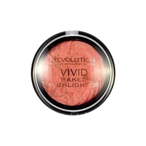 Makeup Revolution Vivid Baked Highlighter - Rose Gold Lights 7.5g