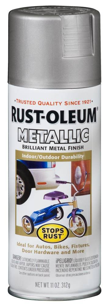 Rustoleum Metallic Spray - Silver, 11oz