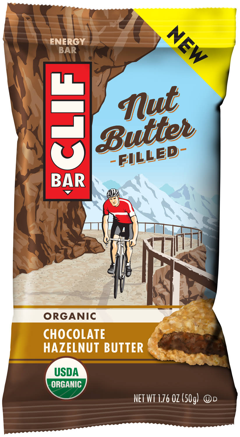 Clif Nut Butter Filled Energy Bar, Organic, Chocolate Hazelnut Butter - 1.76 oz