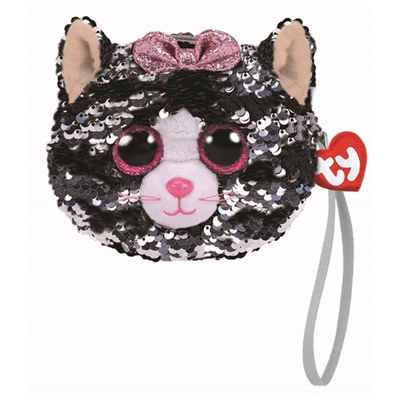 Ty Kiki Cat - Sequin Purse
