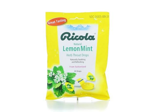 Ricola Herb Throat Drops - Lemon Mint