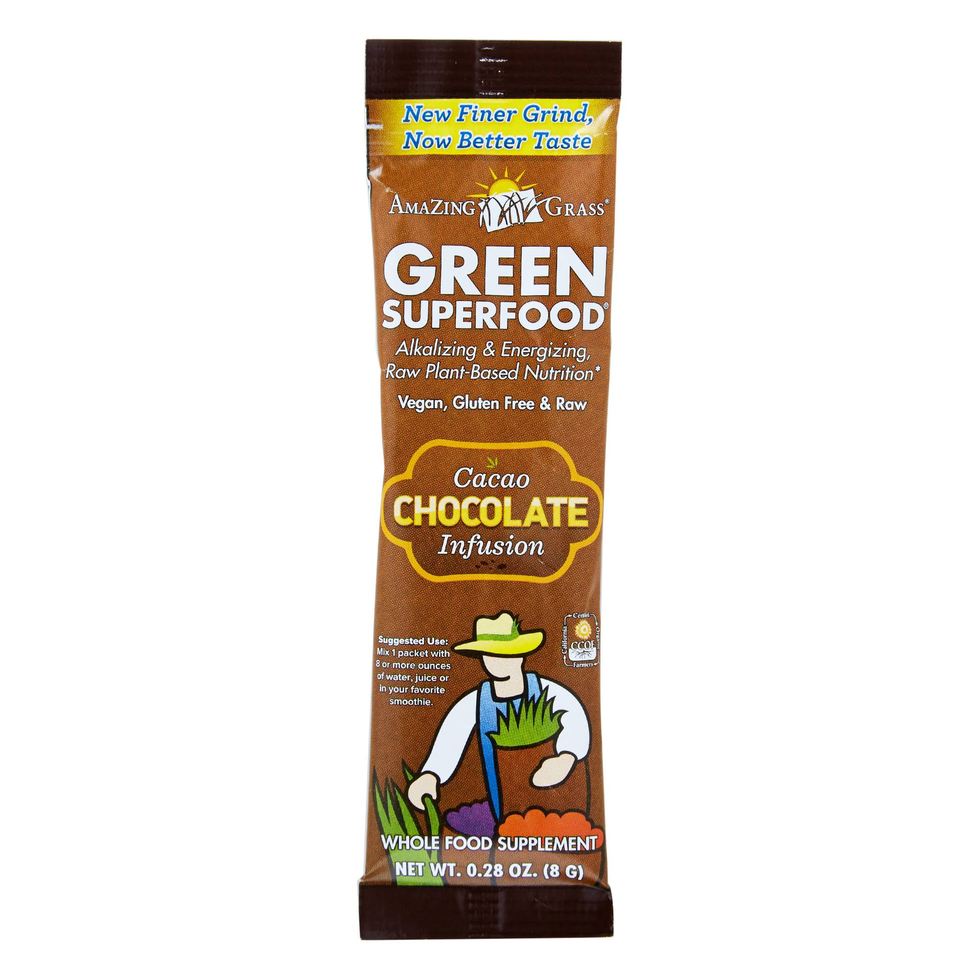 Amazing Grass Green Superfood Chocolate Drink Powder 8g x 15