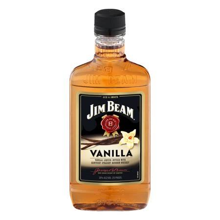 Jim Beam Vanilla Bourbon Whiskey - 375ml