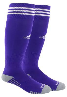 Adidas Copa Zone Cushion IV OTC Socks - Purple/White