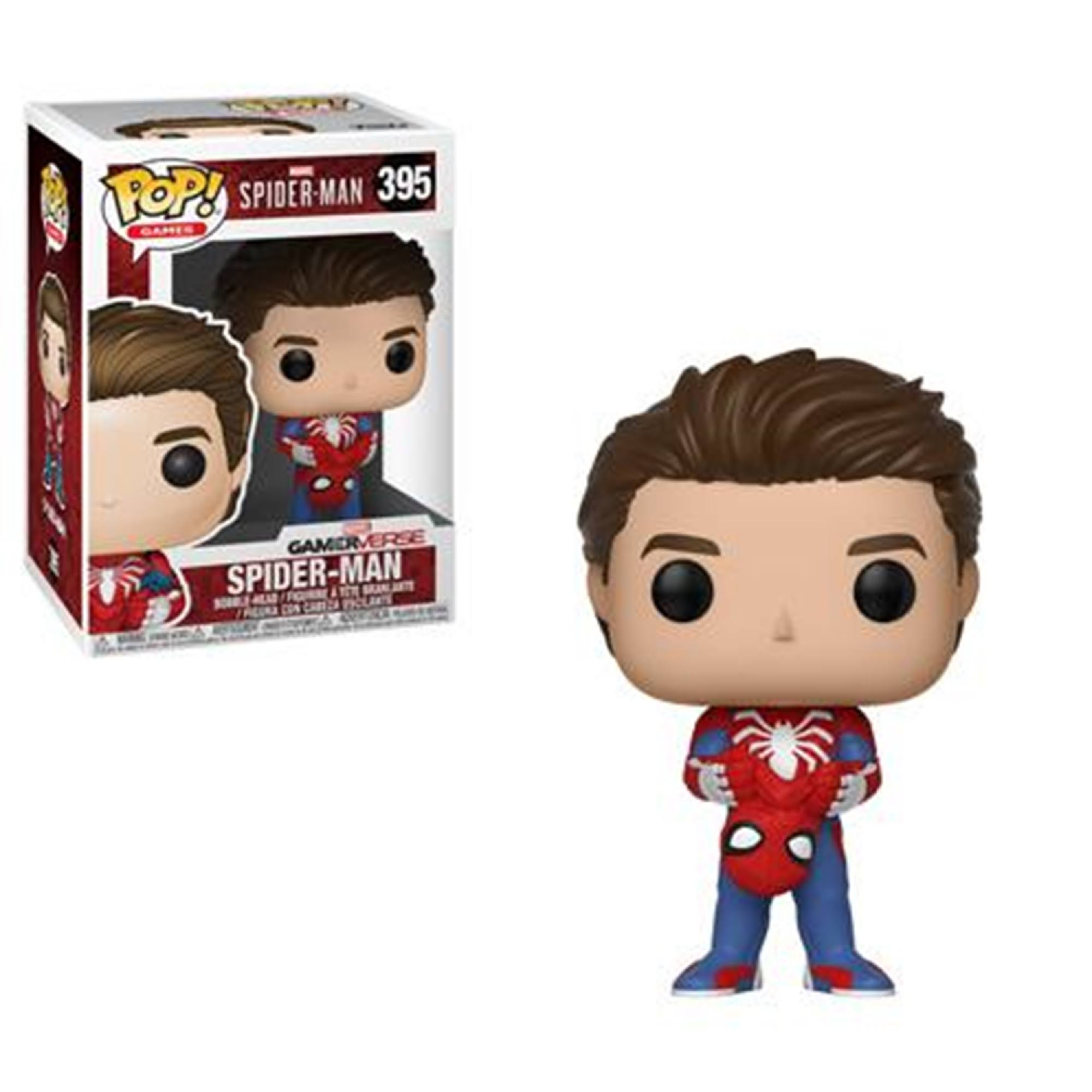 Funko Pop Marvel Spider-Man Vinyl Bobble-Head Figure - Spider-Man Unmasked