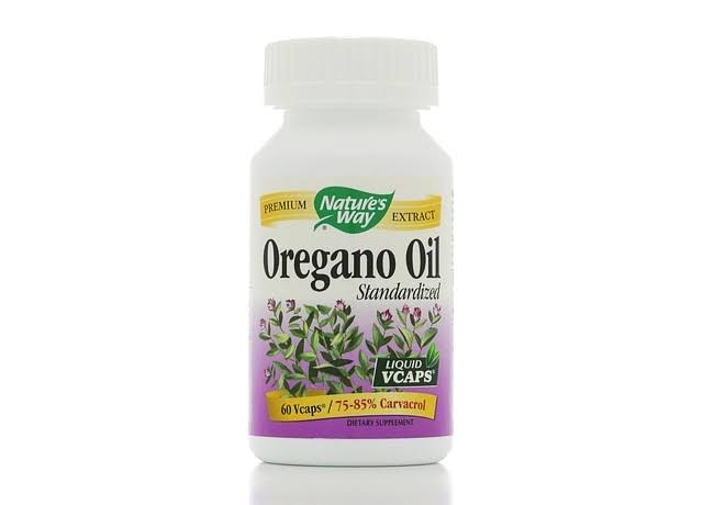 Nature's Way Oregano Oil - 60 Vcaps