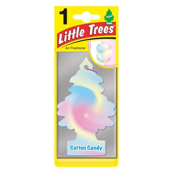 Little Trees Hanging Car and Home Air Freshener - Cotton Candy