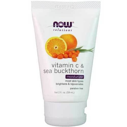 Now Foods Solutions Vitamin C & Sea Buckthorn Moisturizer - 2 fl oz