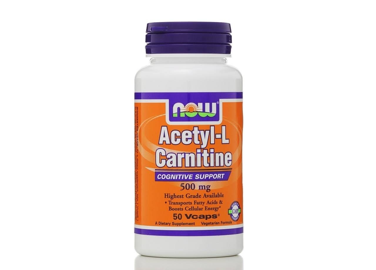 Now Foods Acetyl-L Carnitine 500 mg