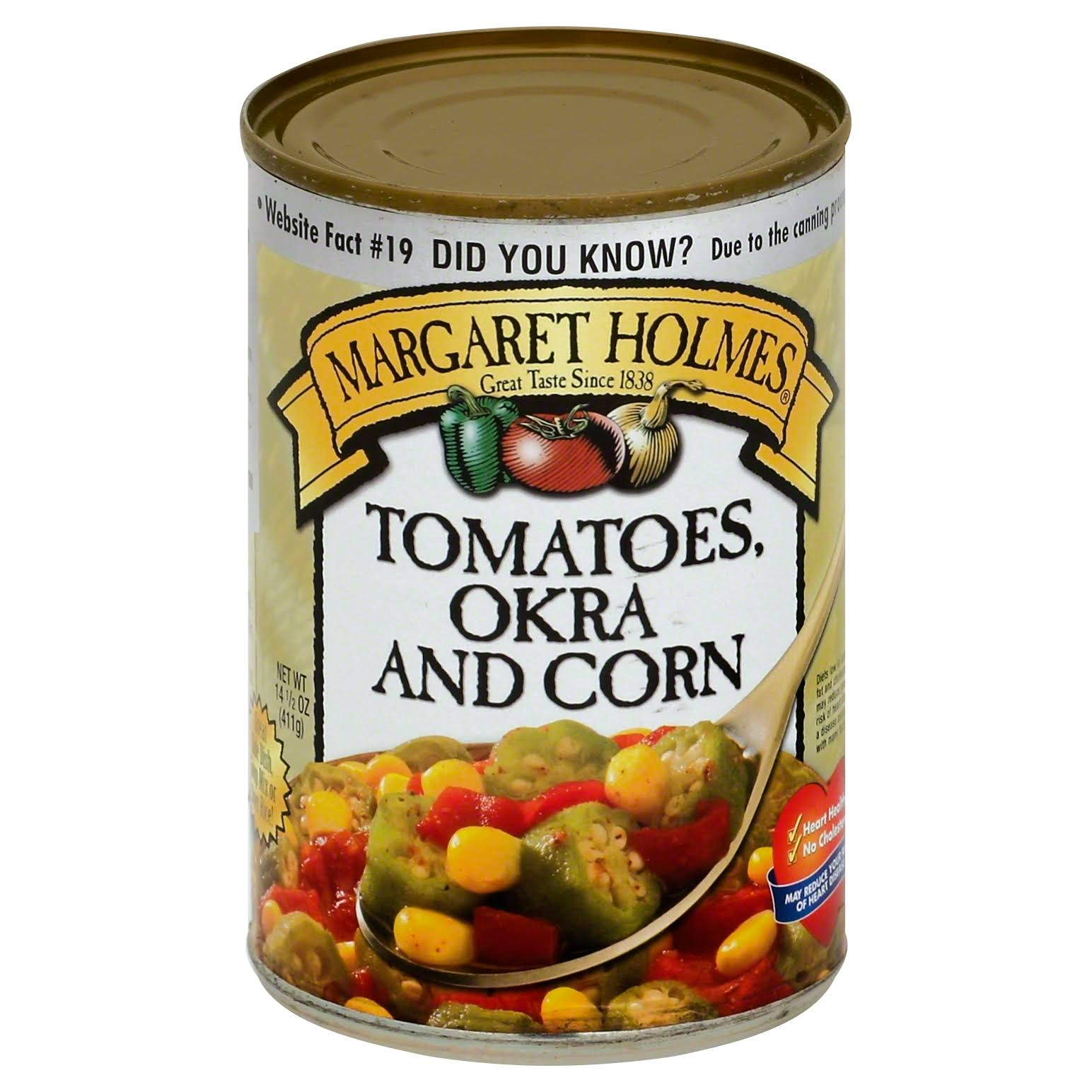 Margaret Holmes Tomatoes Okra and Corn - 14.5oz