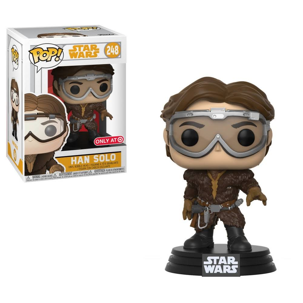 Funko Pop Star Wars Vinyl Figure - Han Solo, 3.75""