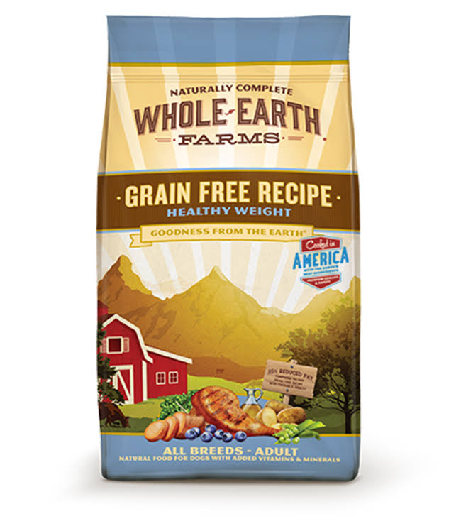 Merrick Whole Earth Farms Grain Free Recipe Dry Dog Food - 12 LB