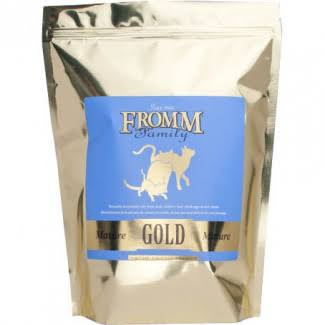 Fromm Mature Gold Dry Cat Food - 5lb