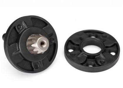 Traxxas 8592 - Housing, Planetary Gears (Front & Rear Halves)