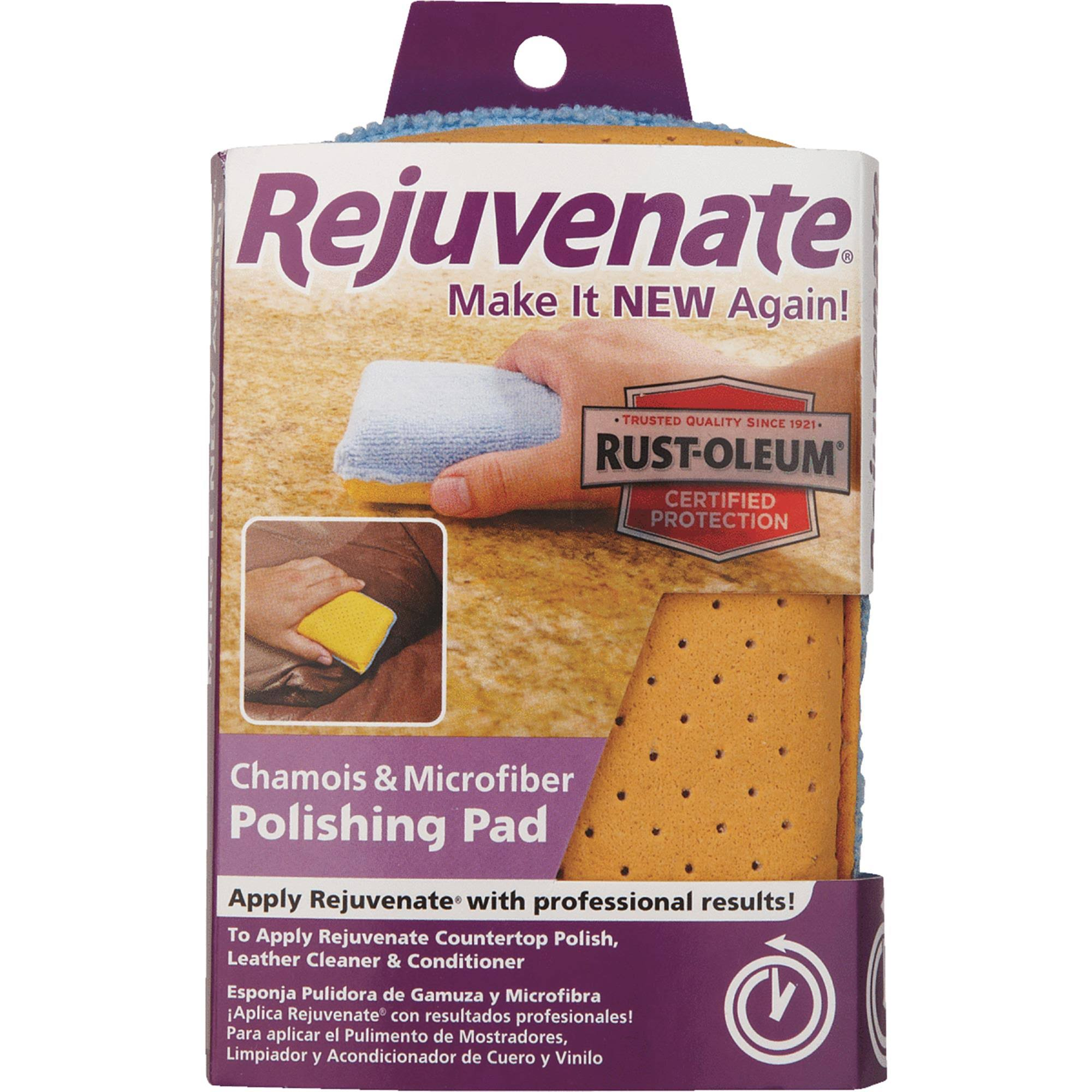 Rejuvenate Chamois and Microfiber Polishing Pad