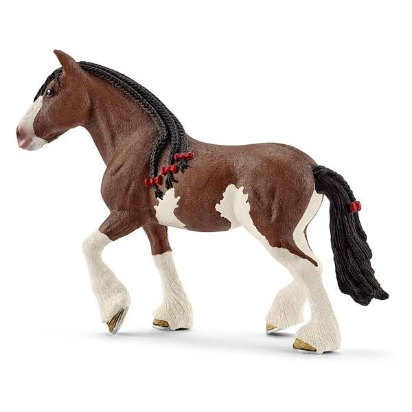 Schleich Clydesdale Mare Horse Farm Life Figurine Toy