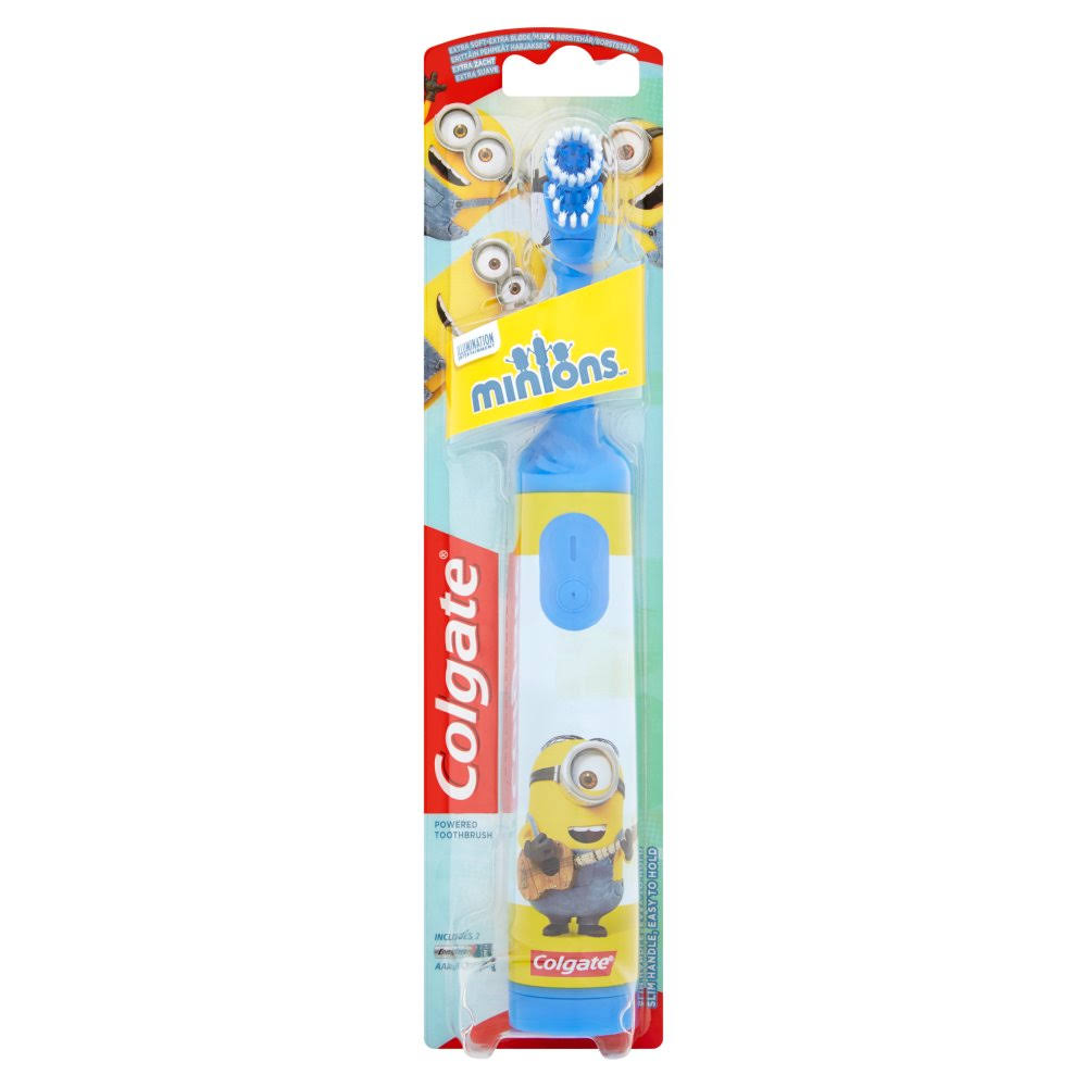 Colgate Kids Minions Powered Toothbrush - Extra Soft, 3+ Years
