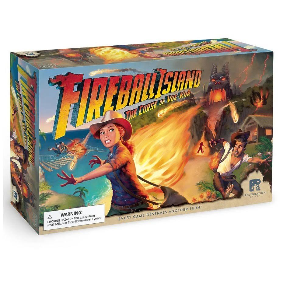Restoration Games Fireball Island The Curse of Vul Kar Board Game