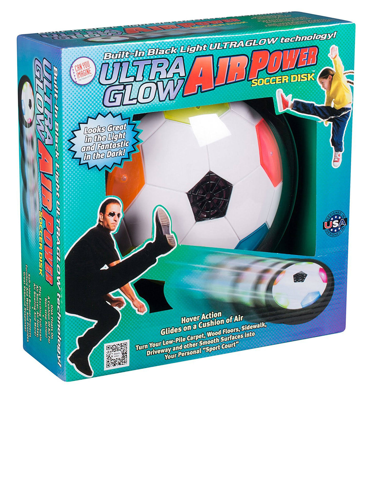 Toysmith Light-Up Gliding Soccer Ball